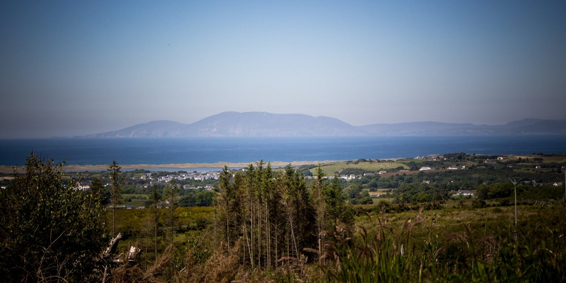 Sligo looking to Donegal hills